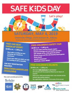Safe Kids Day Flyer 2019
