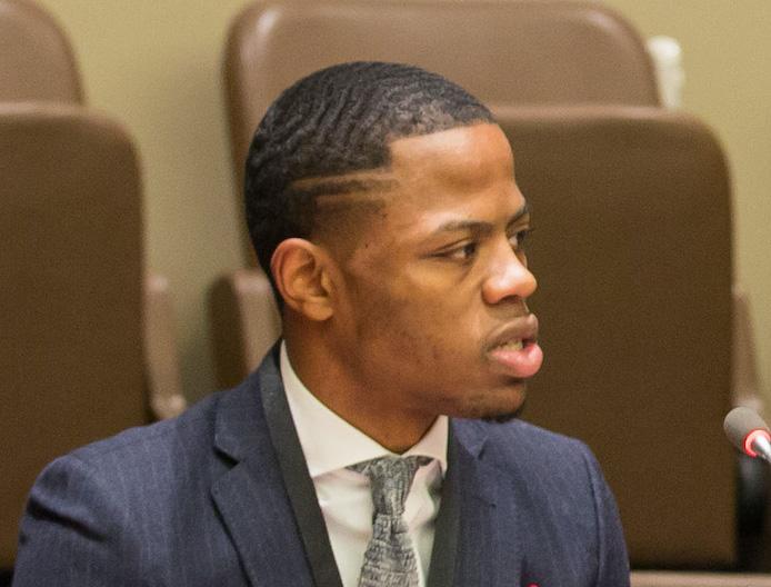 Derrius Quarles at United Nations
