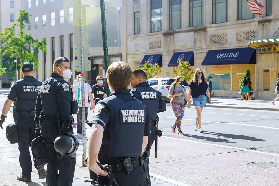 Police Officers Washington